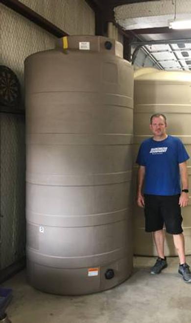 750 Gallon Water Storage Tank-Mocha (32441)
