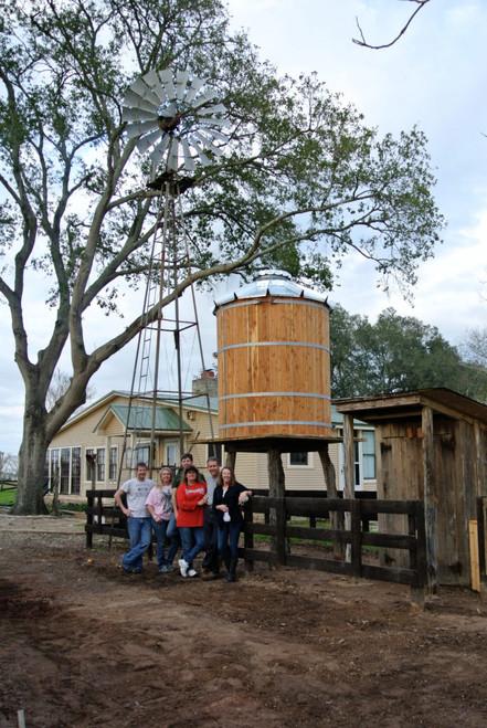 375 Gallon Tiny Timber Water Tank (tT-4X4)