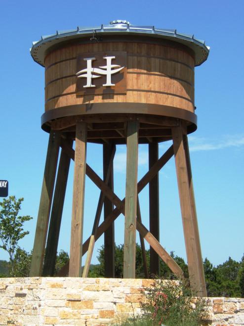 1200 Gallon Tiny Timber Water Tank (tT-6X6)
