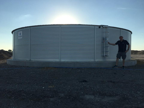 50,000 Gallon - Pioneer Water Storage Tank - Model XL40