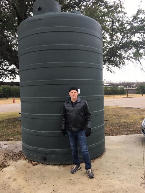 5000 TALL Green Water Tank (32384)