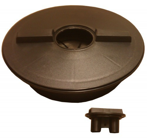 "16"" Lid with 4"" Cap Opening & Mounting Ring for Poly-Mart Tank"