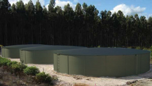 50K Gallon Pioneer Water Storage Tank - Model XL40