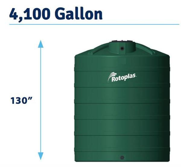 4100 Gallon Water Storage Tank (550792)