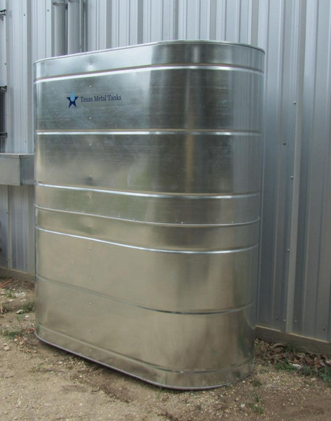 Slimline Galvanized Steel Water Storage Tank