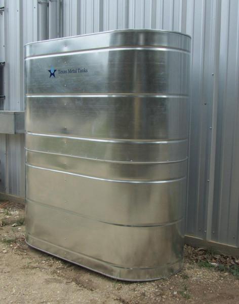 Slimline Stainless Steel Water Storage Tank