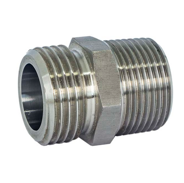 """3/4"""" to Garden Hose Adapter - Stainless Steel"""