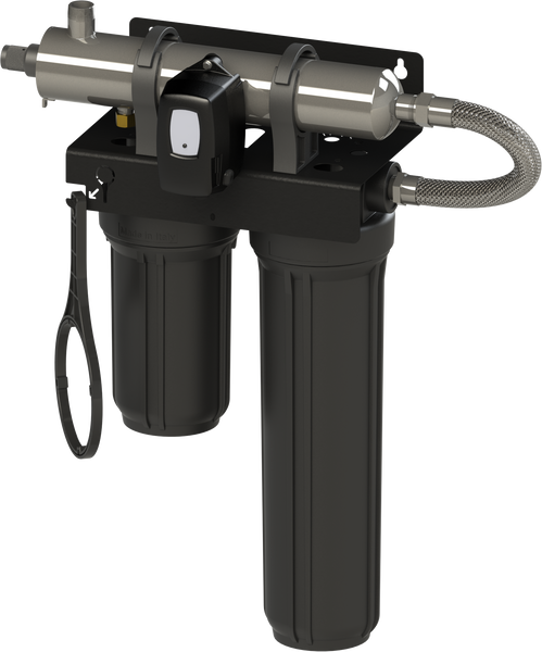 Luminor BLACKCOMB LB5-Z12 WHOLE HOME 8 GPM UV/FILTRATION UNIT W/ LAMP TIMER CONTROLLER 5.1 (DIGITAL SCREEN)