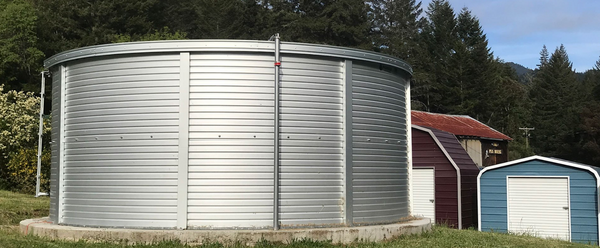 12,946 Gallon - Pioneer Water Storage Tank - Model XLE10 (PWT-XLE10-ZN)