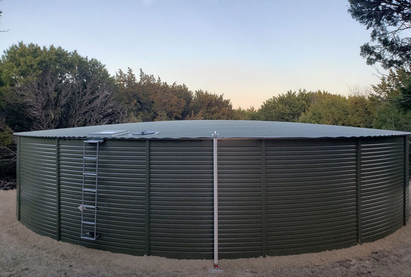 Pioneer XL50 - 65K Gallon Water Storage Tank - Mangrove Green