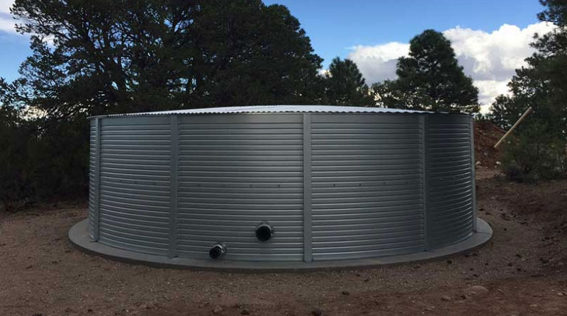 Pioneer Water Tanks manufactures a factory-coated, bolted steel water tank tested and proven to withstand fire immersion. We offer a full line of firefighting adapters and nozzles.