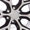 "Black and Machine 20"" Snowflake Wheels for Chevy Silverado, Tahoe, Suburban - New Set of 4"