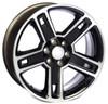 "Black and Machine 22"" Five Spoke for GMC Sierra, Yukon, Denali - New Set of 4"