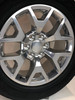 "Polished 20"" Honeycomb Wheels with Goodyear Tires for GMC Sierra, Yukon, Denali"