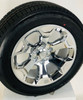 "Set of Four New Takeoff 20"" Chrome Wheels With Bridgestone Dueler Alenza 275/55R20 Tires Fits GM Trucks And SUV's"