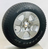 "Set of Four New Takeoff 18"" OEM Gray Wheels With Falken Wildpeak AT 275/65R18 Tires Fits GM Trucks And SUV's"