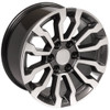 """Gunmetal and Machine 18"""" AT4 Style Wheels for Chevy and GMC Trucks and SUVs"""