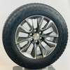 """New OEM Takeoff 20"""" Gunmetal and Machine Wheels With Goodyear AT Tires"""