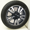 """Black and Machine 20"""" RST Style Split Spoke Wheels with Goodyear Tires for Chevy Silverado, Tahoe, Suburban - New Set of 4"""