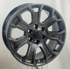"""Hyper Silver 20"""" Seven Spoke Wheels for GMC Sierra, Yukon, Denali - New Set of 4"""