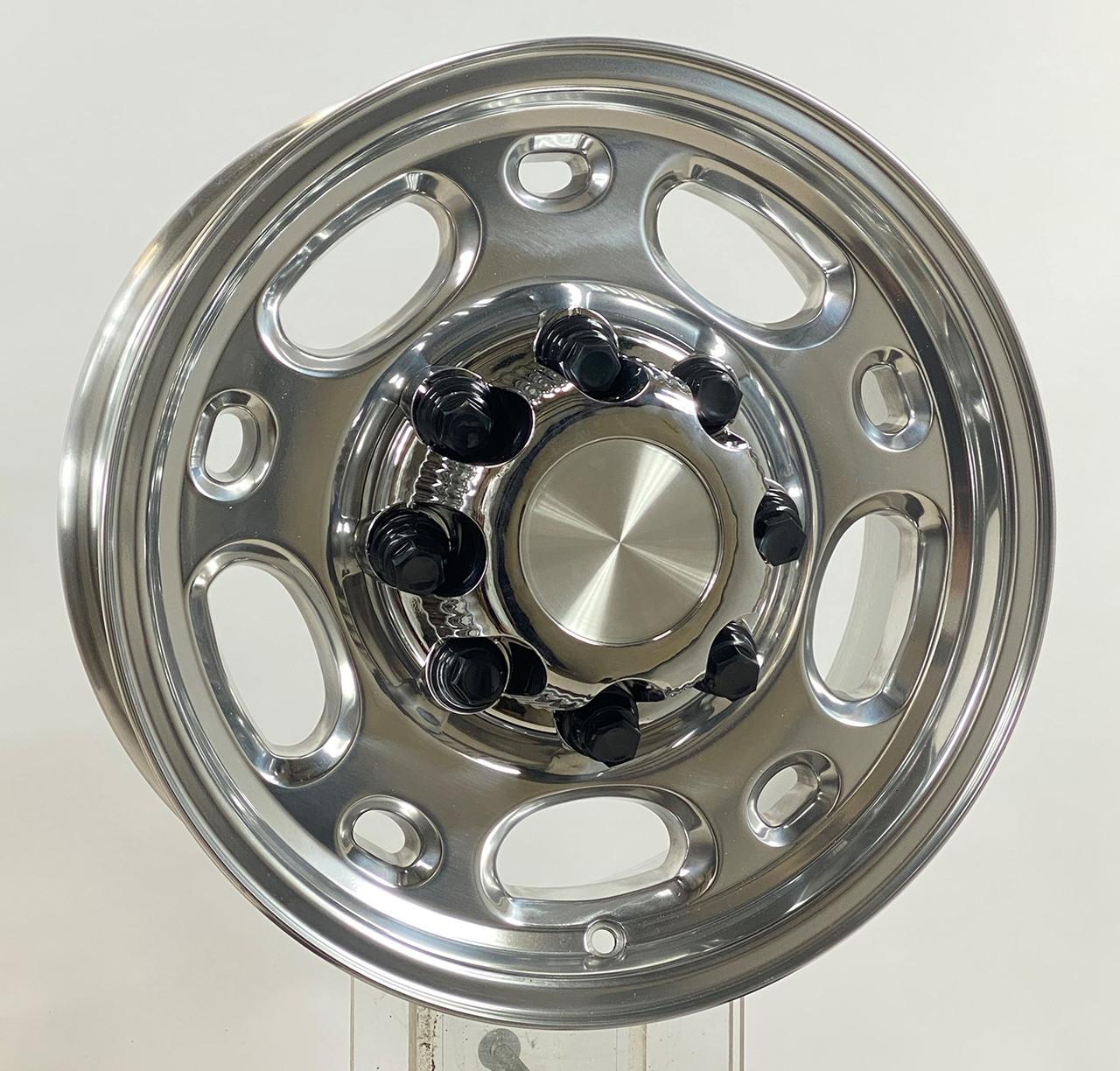 Chevrolet Chevy Silverado 2500 3500 Epress Van 16 8 LUG WHEEL CHROME hub caps CENTER SET