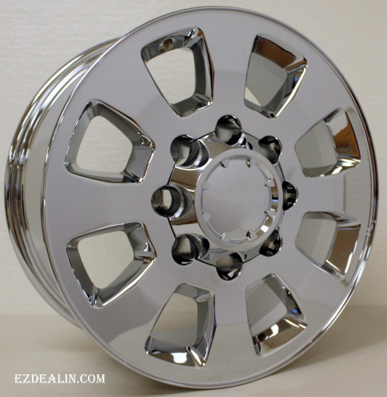 Gmc 2500 3500 Hd Sierra Denali 2011 2018 8 Lug Chrome 18 Wheels 8 180