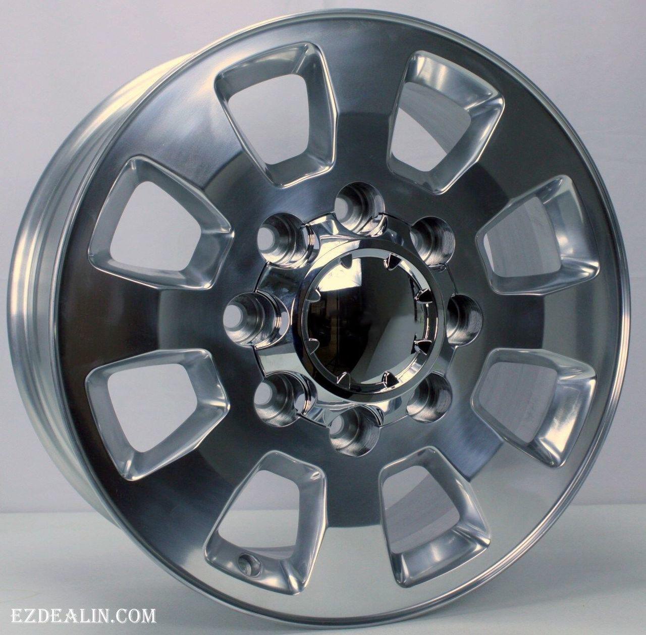 Gmc 2500 3500 Hd Sierra Denali 2011 2018 Polished Aluminum 18 8 Lug Wheels Rims 8 180
