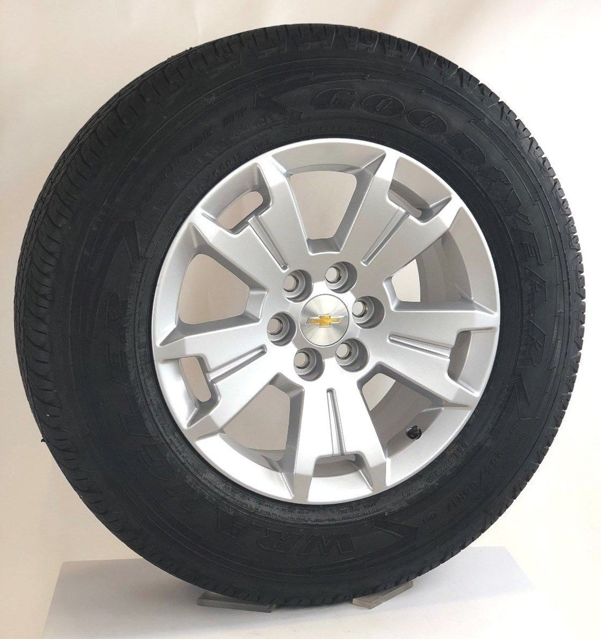 """New Takeoff 17"""" Chevy Colorado Wheels with Goodyear tires"""