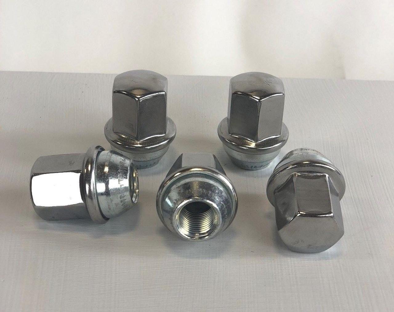 Set of 32 Dodge Ram 2500 3500 Factory OEM 14mm X 1.5mm New Polished Lug Nuts