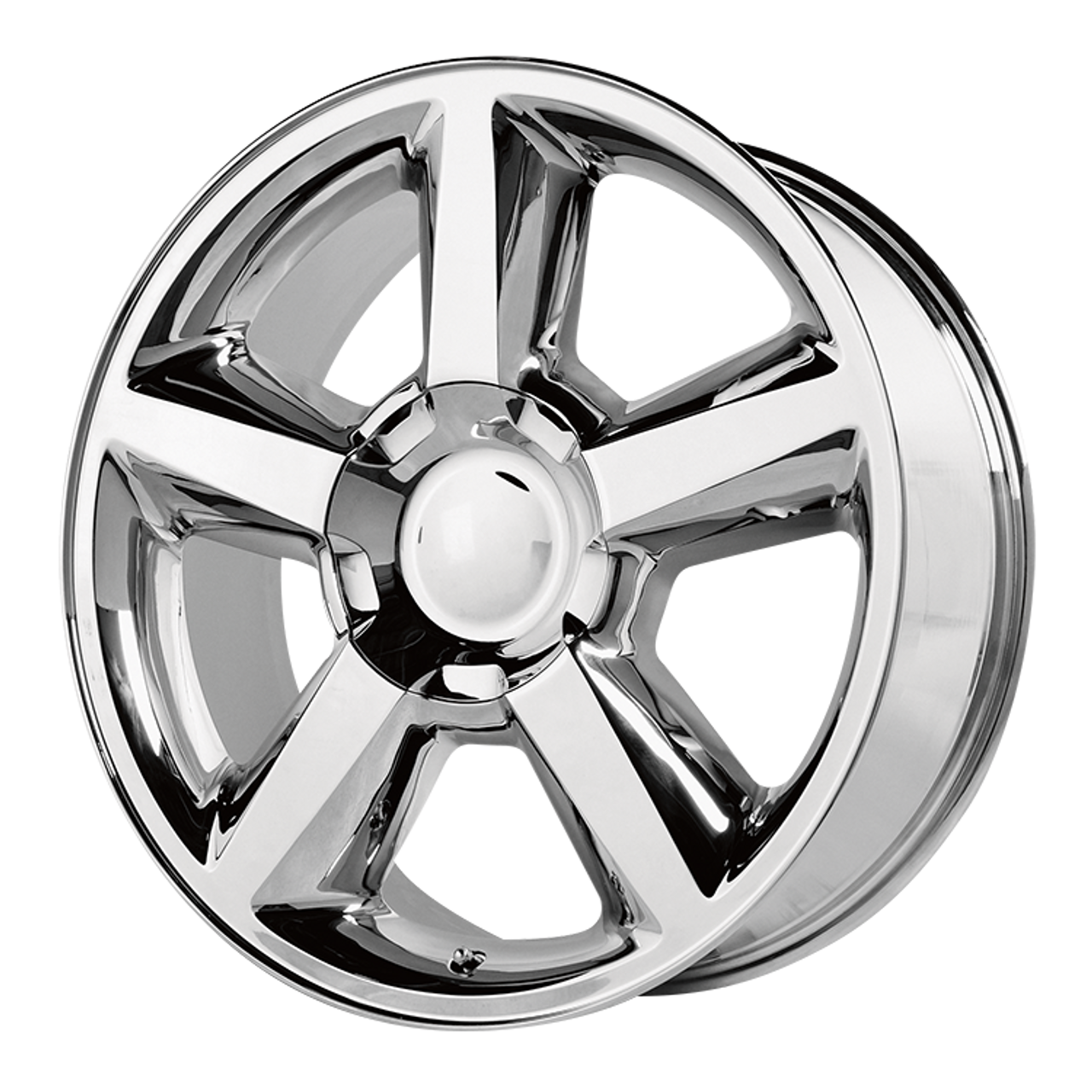 "Chrome 22"" Old Style LTZ Wheels for GMC Sierra, Yukon, Denali - New Set of 4"