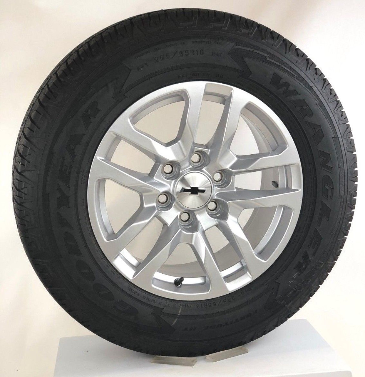 "New Takeoff 2019 Chevy 18"" Wheels with Goodyear Tires"