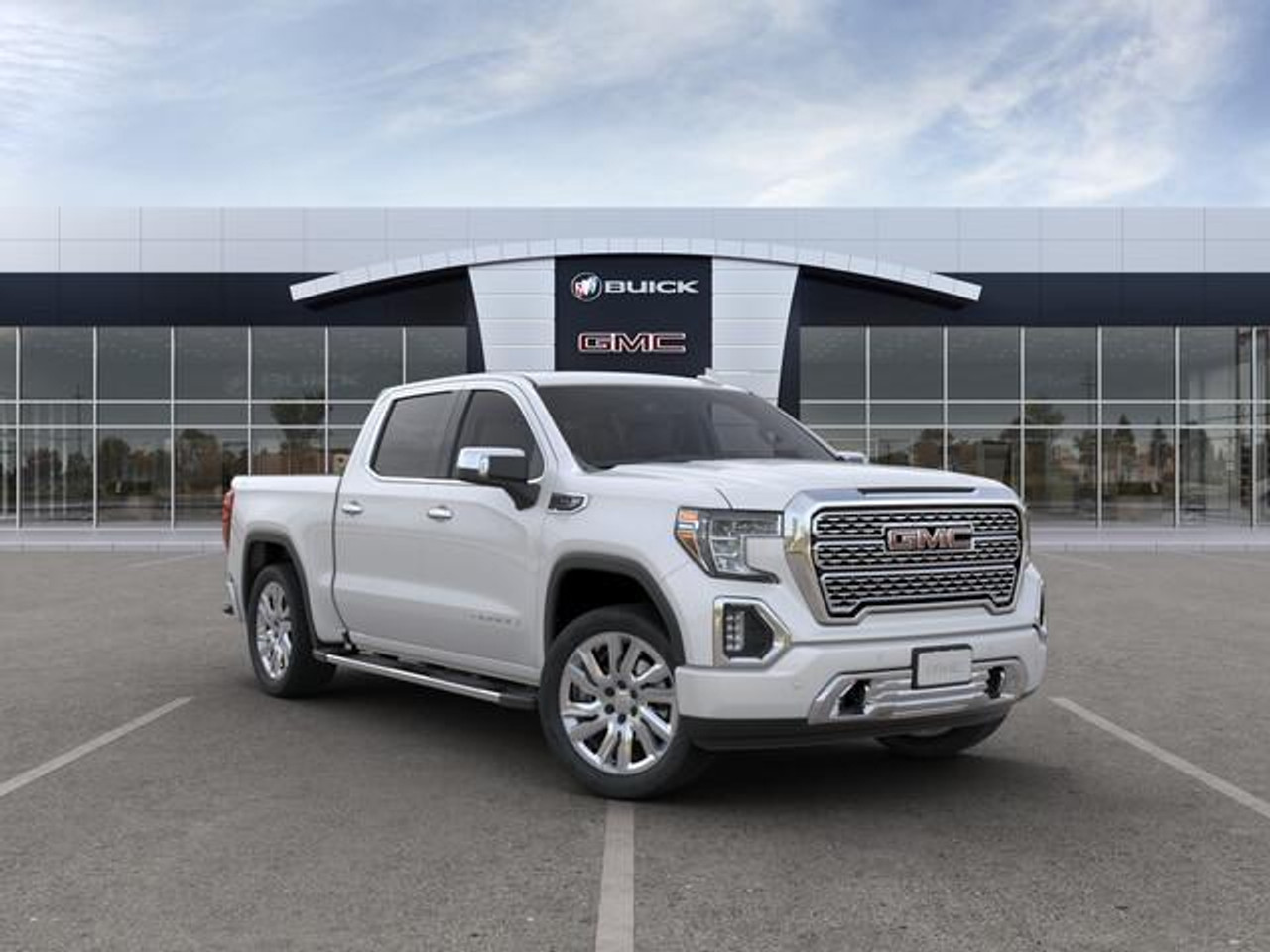 """GMC Gloss Black 22"""" with Angled Chrome Inserts Replica Wheels"""