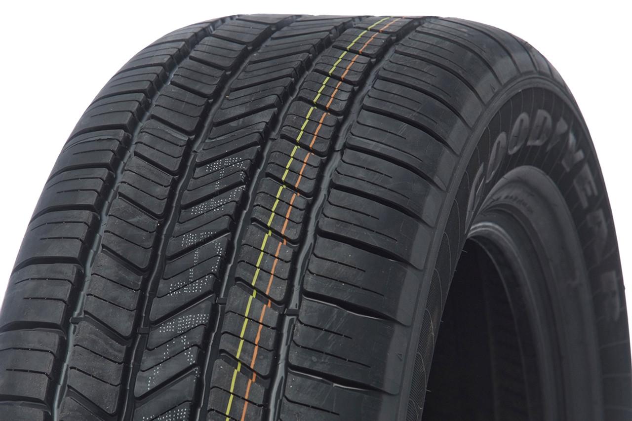 "Black and Machine 20"" Denali Style Split Spoke Wheels with Goodyear Tires for GMC Sierra, Yukon, Denali - New Set of 4"