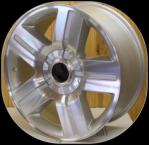 "Machine 20"" Texas Wheels for Chevy Silverado, Tahoe, Suburban - New Set of 4"