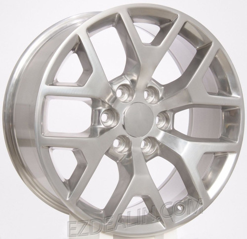 "Polished 20"" Honeycomb Wheels for GMC Sierra, Yukon, Denali - New Set of 4"