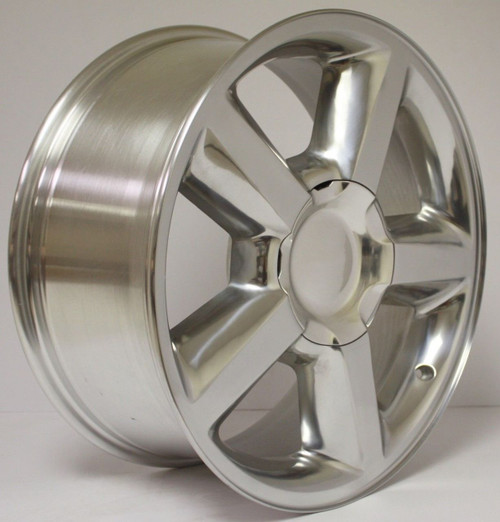 "Polished 20"" Old Style LTZ Wheels for GMC Sierra, Yukon, Denali - New Set of 4"