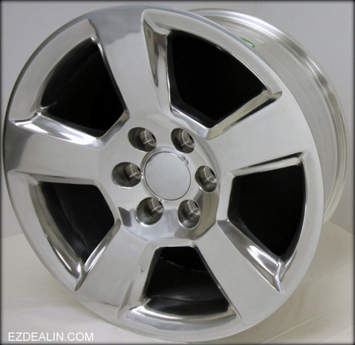 "Polished 20"" New Style LTZ Wheels for GMC Sierra, Yukon, Denali - New Set of 4"