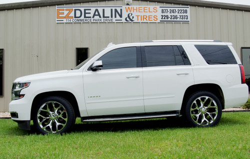 GMC 22 inch Chrome Snowflake for Sierra, Yukon, Denali