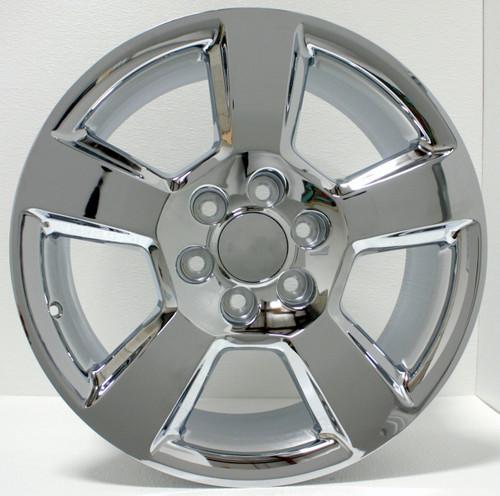 "Chrome 20"" New Style LTZ Wheels for GMC Sierra, Yukon, Denali - New Set of 4"
