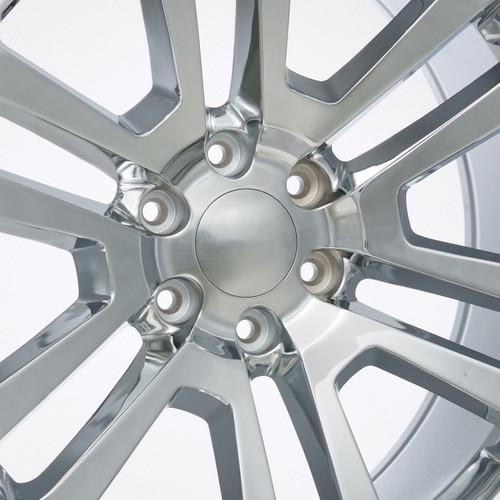 """Chrome 22"""" Split Spoke Wheels for GMC Sierra, Yukon, Denali - New Set of 4"""