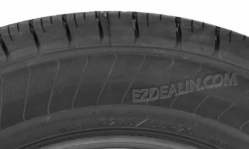 "Gloss Black 20"" Snowflake Wheels with Goodyear Tires for GMC Sierra, Yukon, Denali - New Set of 4"