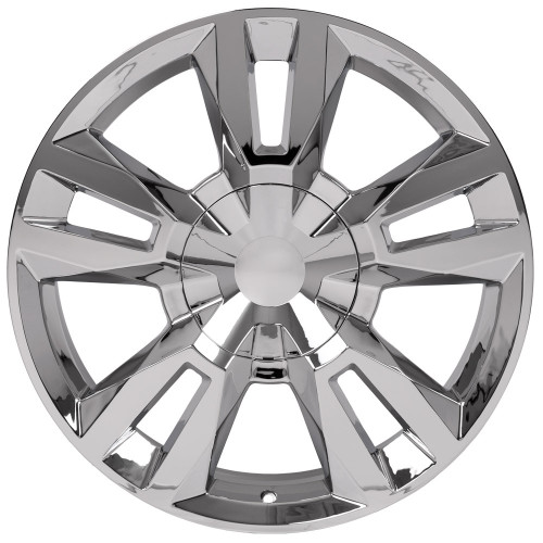 "Chrome 22"" RST Style Split Spoke Wheels for GMC Sierra, Yukon, Denali - New Set of 4"