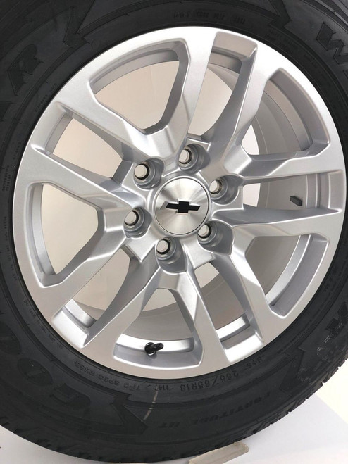 "New Takeoff 2020 Chevy 18"" Wheels with Goodyear Tires"