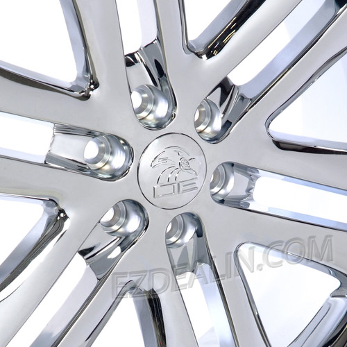 "New Set of 4 Chrome 22"" Split Spoke  Wheels for Ford F-150"