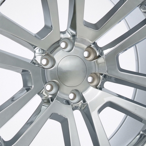 "Chrome 22"" Split Spoke Wheels for 2019 and newer Dodge Ram 6 Lug 1500"
