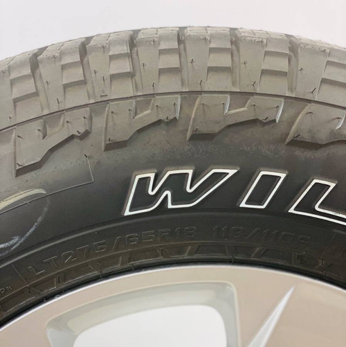 "Set of Four New Takeoff 18"" OEM Gray Wheels With Falken Wildpeak AT 275/65R18 Tires Fits 2019 and newer Dodge Ram 1500"