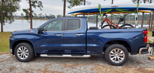 "Chrome 20"" RST Style Wheels for Chevy Silverado, Tahoe, Suburban - New Set of 4"