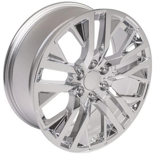 "Chrome 22"" Next Gen Sierra Wheels for GMC Sierra, Yukon, Denali - New Set of 4"