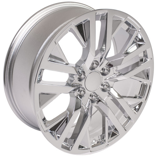 "Chrome 22"" Next Gen Sierra Wheels for Chevy Silverado, Tahoe, Suburban - New Set of 4"