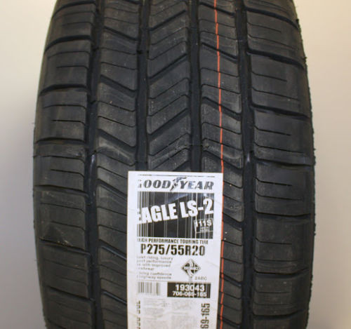 "Gunmetal and Machine 20"" Denali Style Split Spoke Wheels with Goodyear Tires for GMC Sierra, Yukon, Denali - New Set of 4"